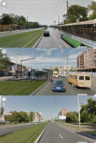 Трамвай Красный-Путь - Мира