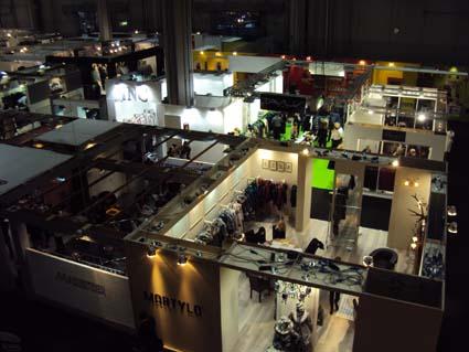 MiFUR - первый этаж выставки