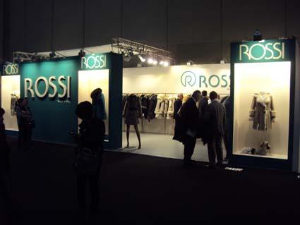 Стенд фирмы ROSSI
