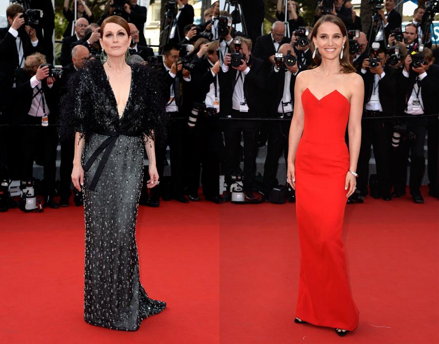 02_Julianne Moore in Armani Privé_Natalie Portman in Dior