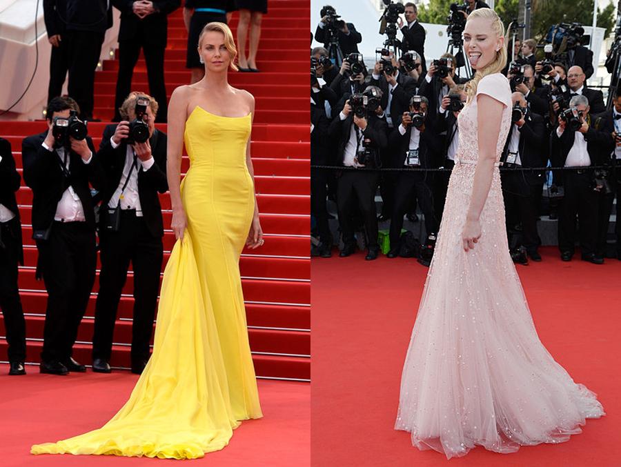 07_Charlize Theron in Chrisian Dior_Tanya Dziahileva in Georges Hobeika Couture