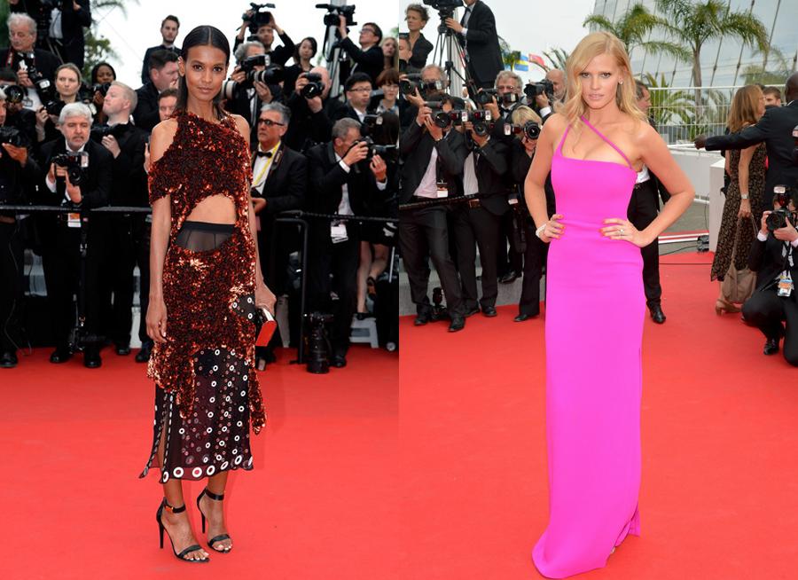 11_Liya Kebede in Proenza Schouler_Lara Stone in Calvin Klein