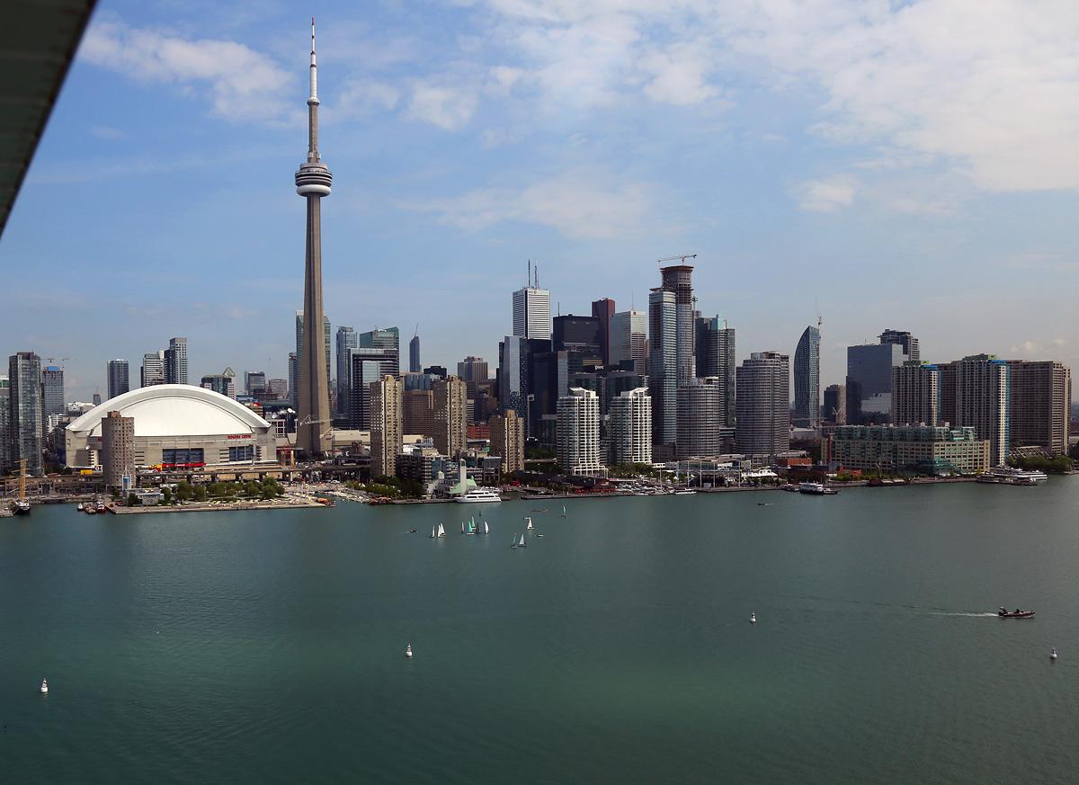 above-Toronto-view