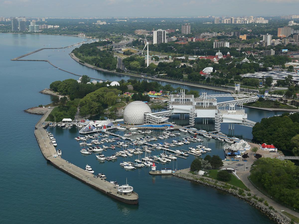 above-Toronto-marina