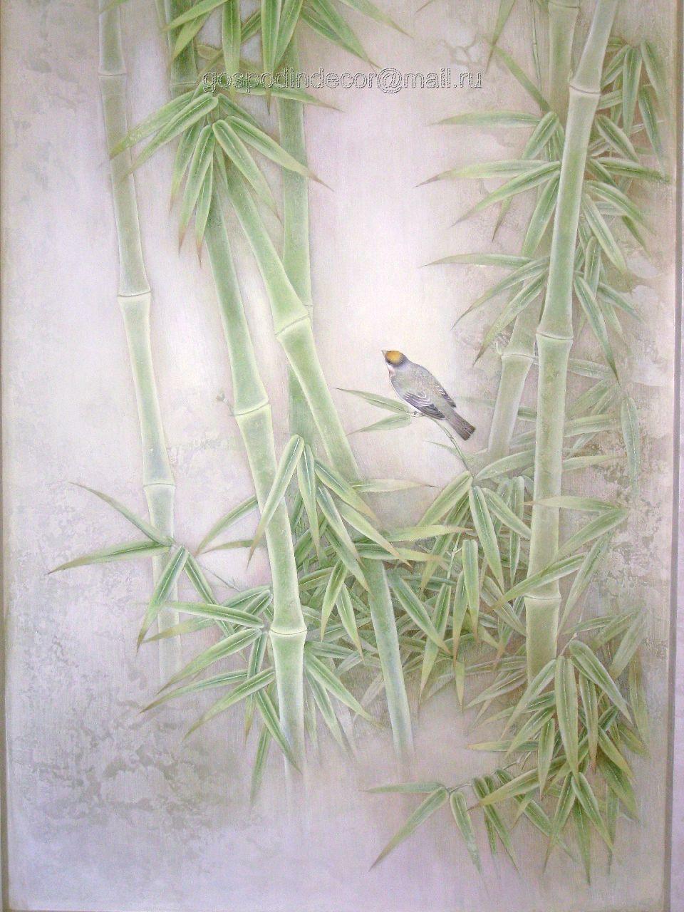 Художественная декоративная отделка стен фото 3