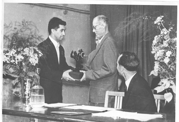 Шарыгин Ю.Е. (слева) 1963