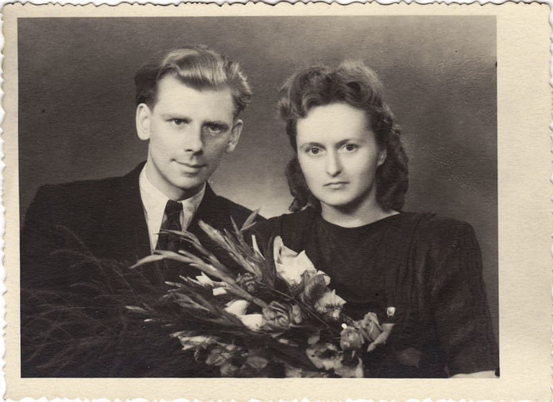 Правдины Анатолий и Тамара 5 авг 1950