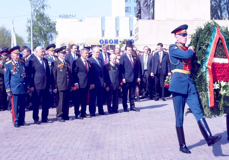 Казань Парк Победы 9 мая 2016