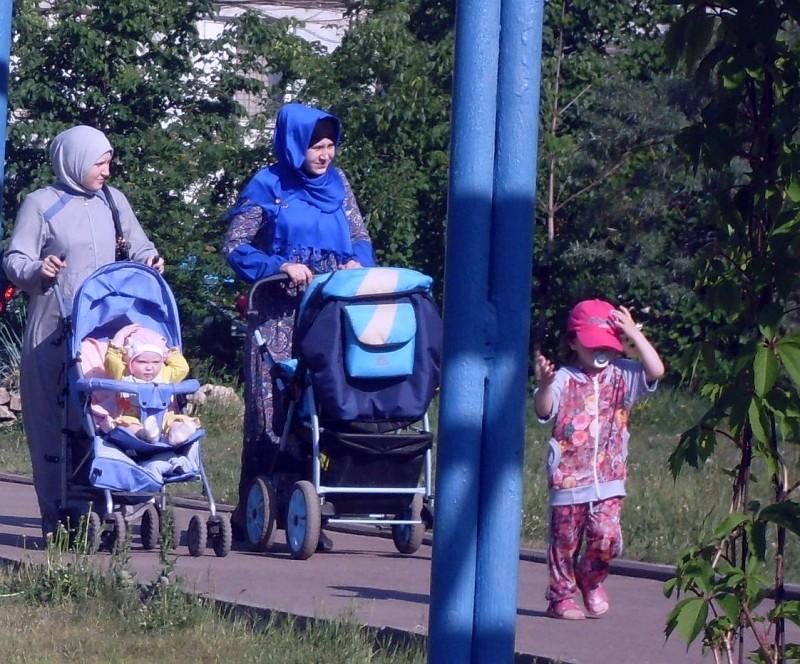 Мамы-мусульманки Казань 2014