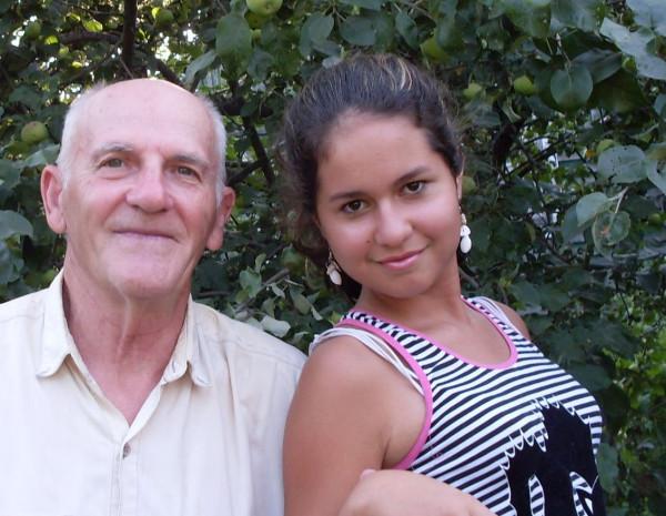 Я с Ренатой 2009 год