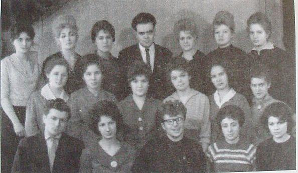 Выпуск истфила ГГУ 1962