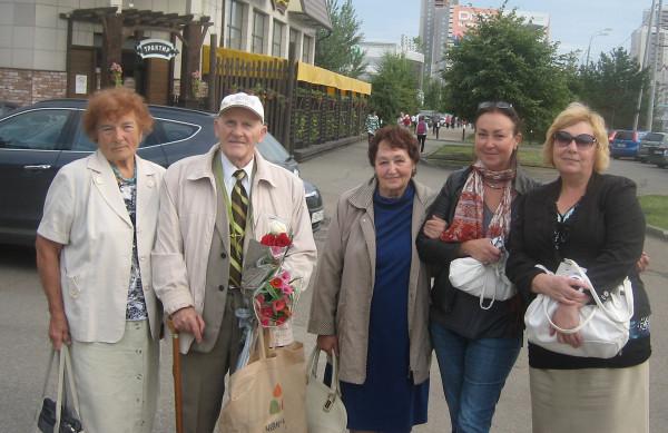 Геннадий Егоров с друзьями 2016