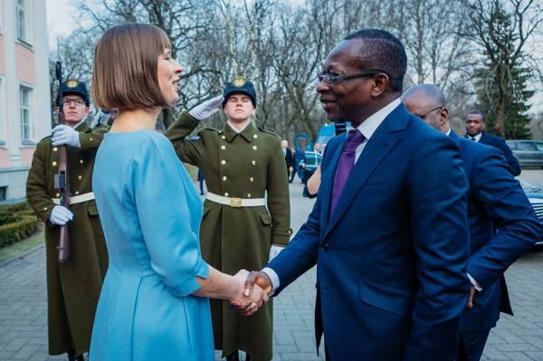 К.К. с президентом Бенина
