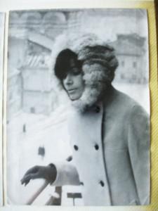 Генриэтта Хлебникова зимой