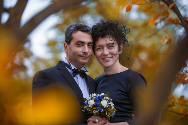 Лев Шлосберг с женой Жанной
