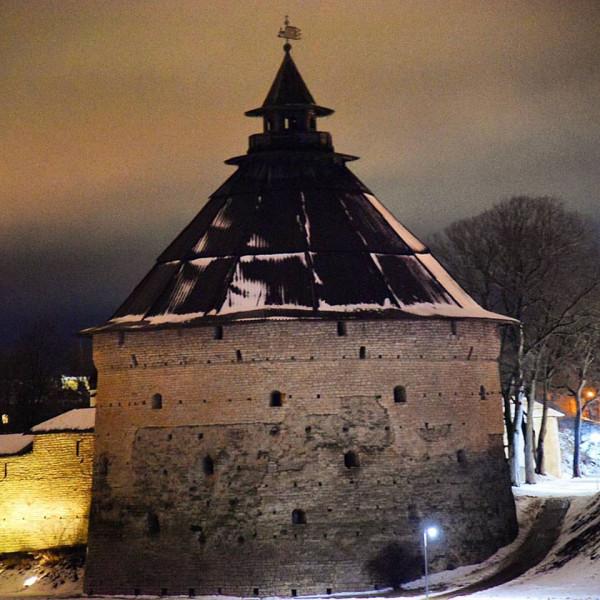 Покровская башня О.К. Псков