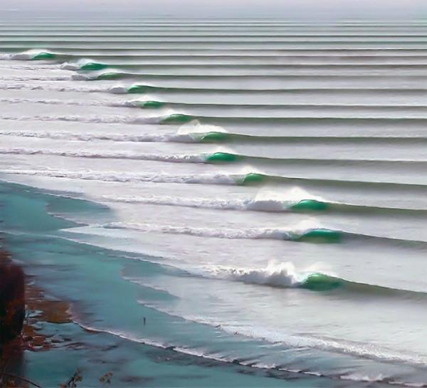 волны в Перу