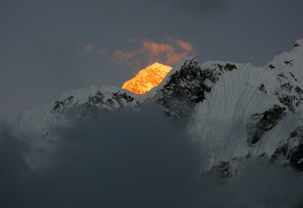 закат на Эвересте