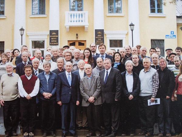 Участники семинара в Дубне, апрель 2015