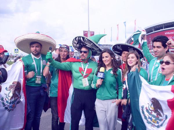 Фаны Мексики