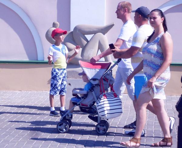 Туристы Казань
