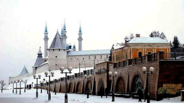 Казань зима пришла