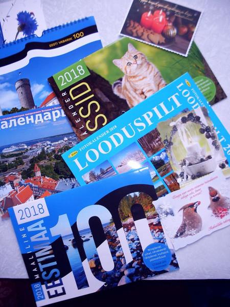 Календари Эстония 2018