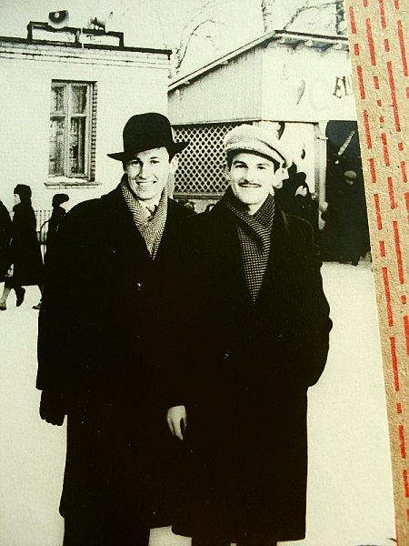Егоров Геннадий (справа) Паснов Михаил 1961