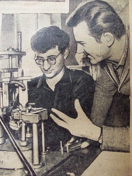 Егоров Геннадий (справа) 1964