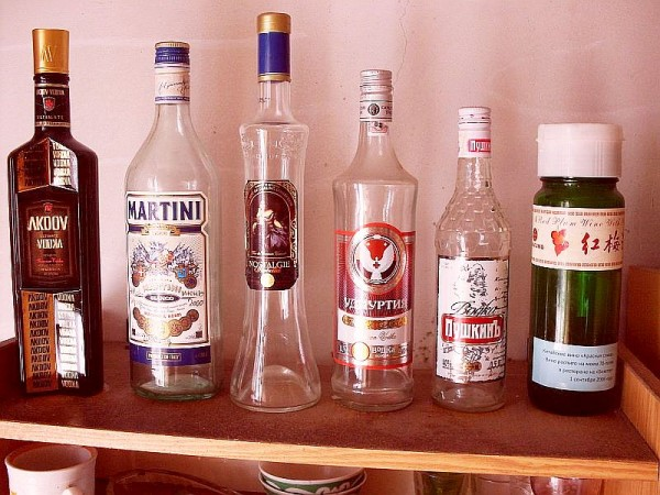 Памятные бутылки ...