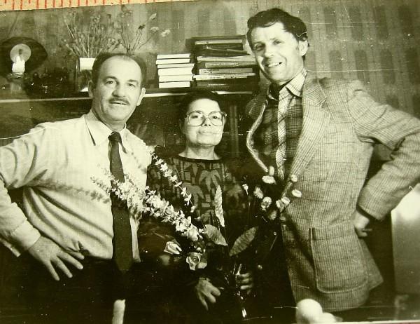 Катков Николай Иванович (справа) 1989