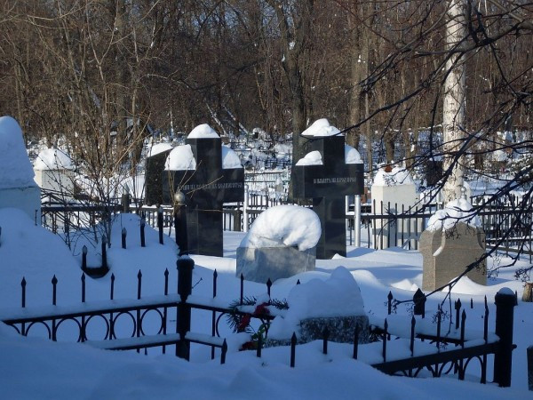 Арское кладбище-4 зимой 2011