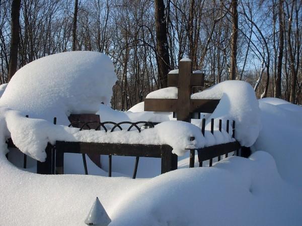 Арское кладбище-5 зимой 2011