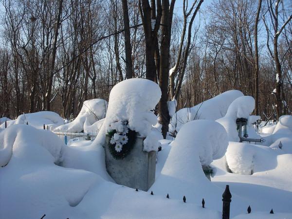 Арское кладбище-6 зимой 2011