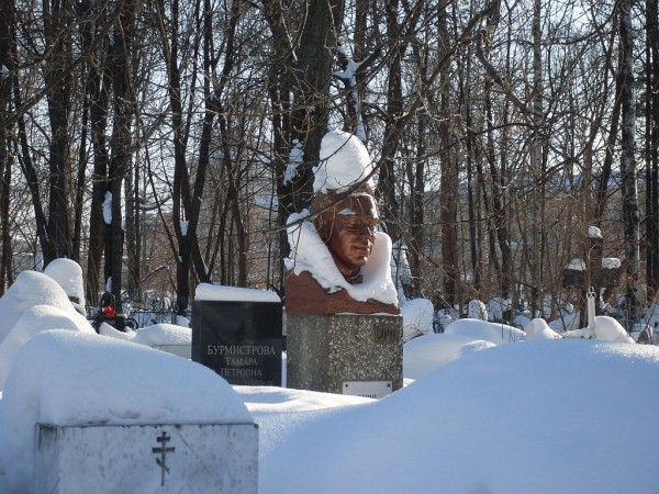 Арское кладбище-7 зимой 2011