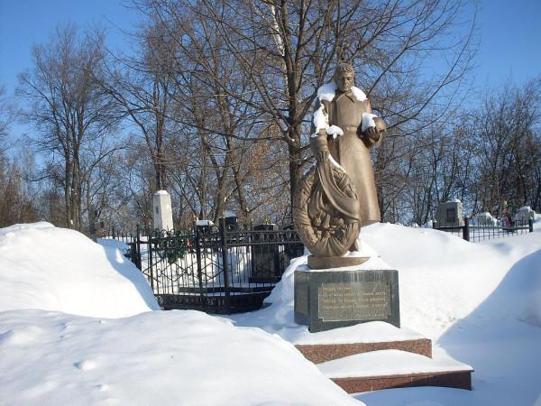 Арское кладбище-11 зимой 2011