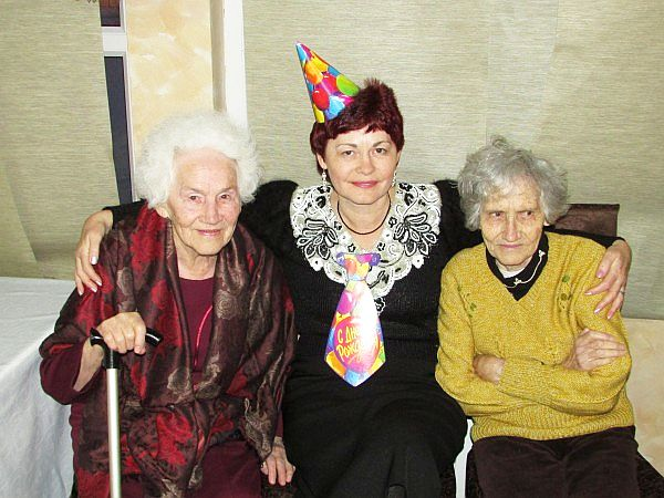 Ирина Сбор с бабушками