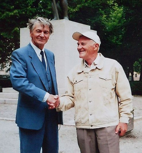 Вальтер Тоотс (слева) 2007 год