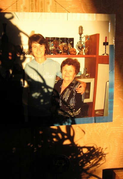 Фарида с бабулей Делей