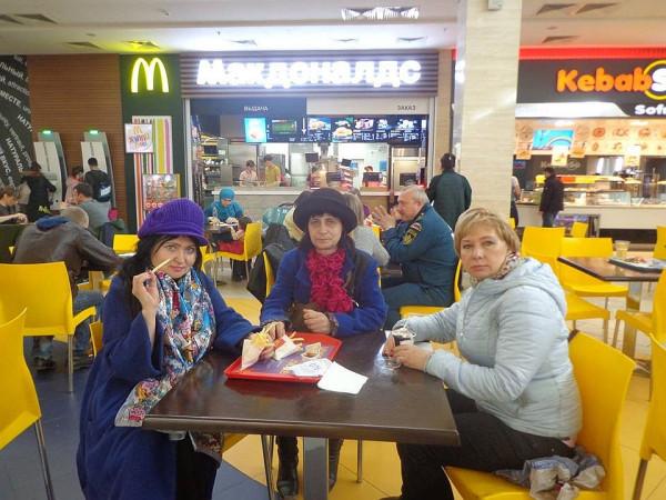 Елена Черняева с подругами апр 2018