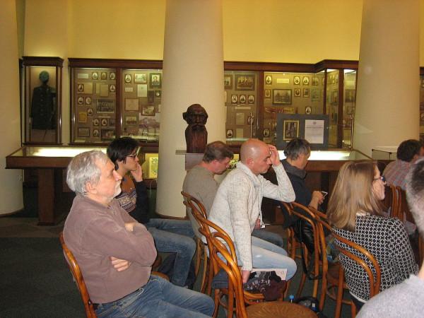 В эале Музея истории КГУ