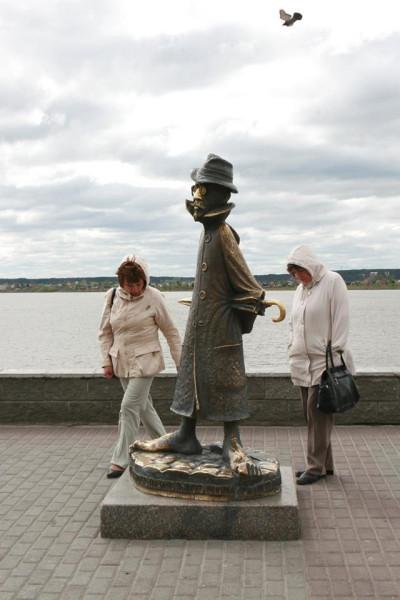 Чехов в Сибири (Томск) фото В. Надя