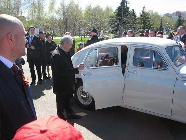 Шаймиев М.Ш. у авто ПОБЕДА  2018