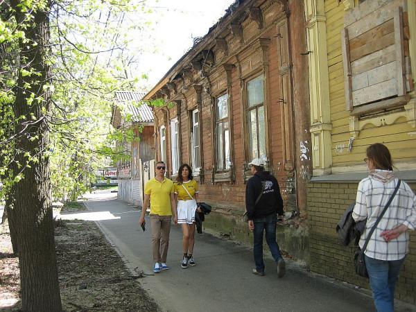 Старый дом на улице Новой