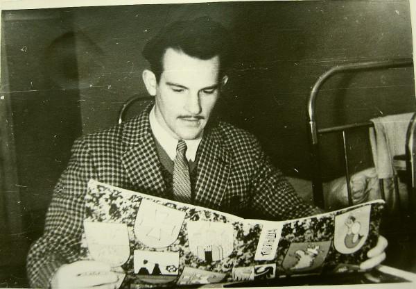 Егоров Геннадий общежитие 1958