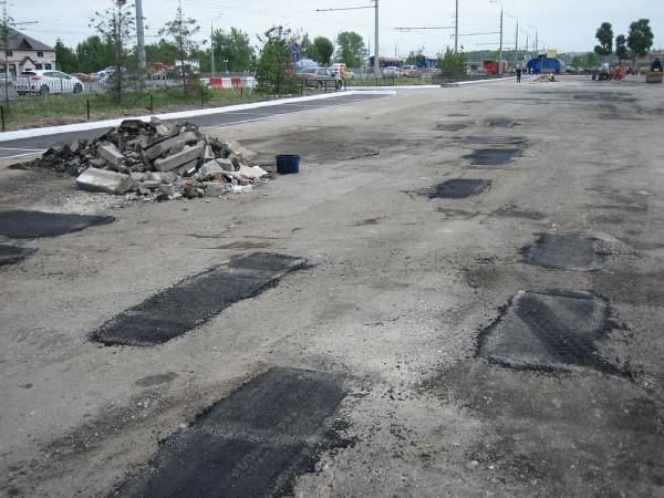 Ямочный ремонт Казань