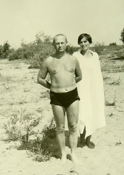Б.Д. Курис и Заира 1969