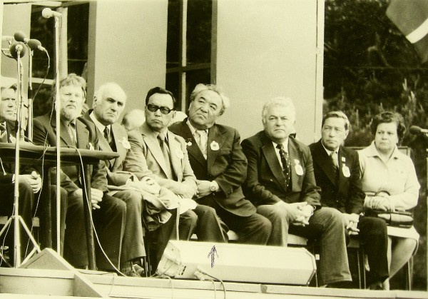 Кугульдинов Давид в центре 1977 год