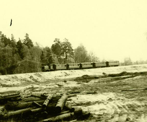 1992 май - Пассажирская - 5 вагонов  рекорд!