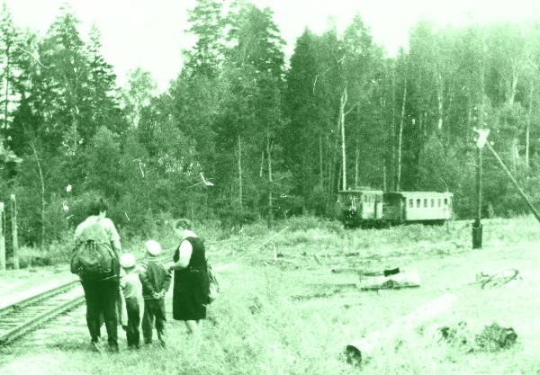 1987 август - к Пассажирской подходит почтовый - локомотив ЭСУ